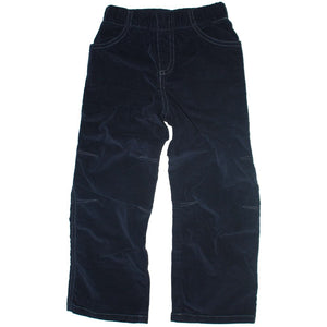 City Threads Navy Boys Corduroys