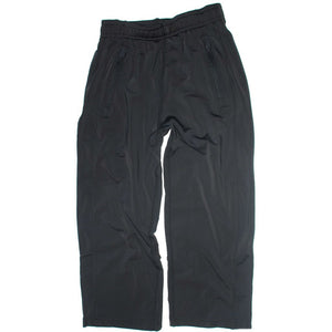 Boys Black Athletic Pants, High Performance on model