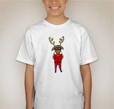 Gangsta Rudolph Kids Graphic Tee
