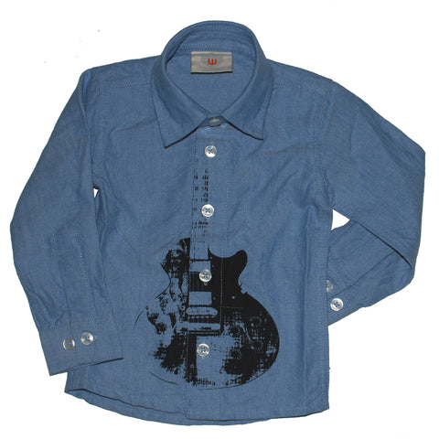 Guitar Dress Shirt - Clearance!