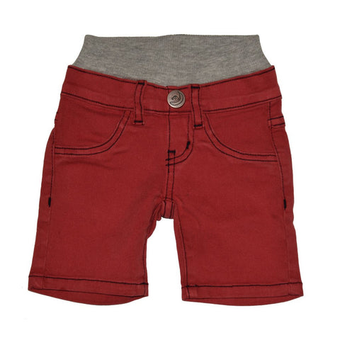 Firehouse Red Twill Shorts