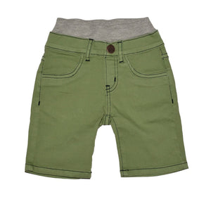 Boys Seaweed Green Shorts, Baby, Toddler