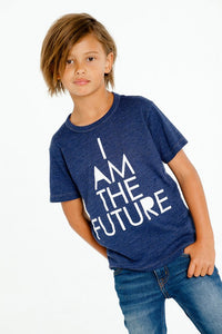"Chaser Kids Navy Tshirt ""I am the future"""