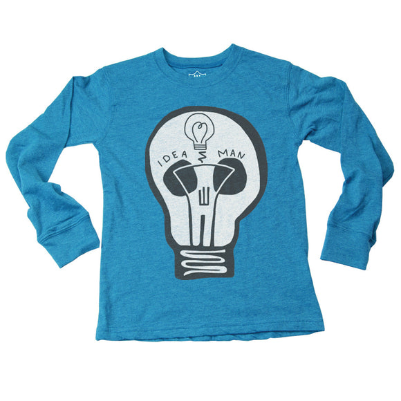 Wes & Willy Glow in the Dark Shirt, Idea Man