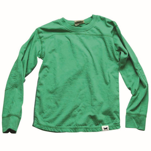 Ultra Soft Green Long Sleeve Boys T-shirt