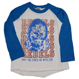 Chewbacca Boys T-shirt, Rebels, Junk Food Clothing