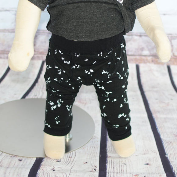 Paint Splatter Baby Pants
