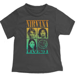 Rowdy Sprout Nirvana Kids T-shirt
