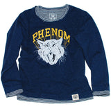 Vintage Style Boys Long Sleeve T-shirt, Phenom