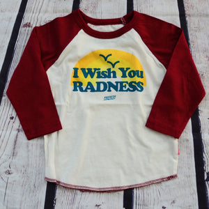 Wish you Radness Raglan T-shirt