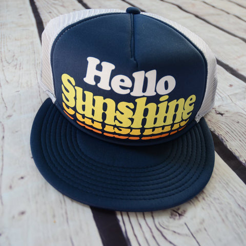 Hello Sunshine Trucker Hat