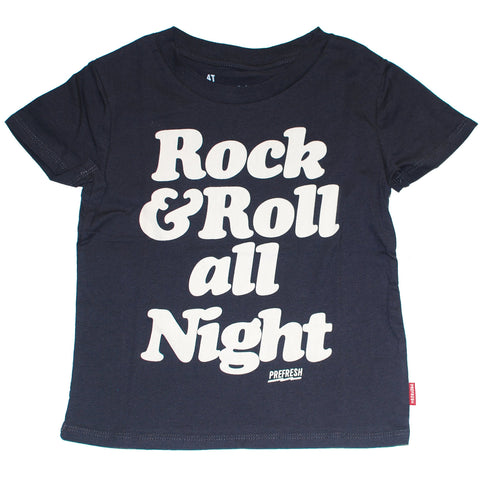 Rock & Roll All Night Boys T-shirt by Prefresh