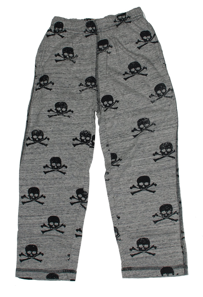 Skull Print Lounge Pants for Boys