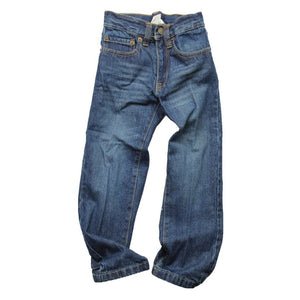 Wes & Willy Boys Premium Jeans, T-Buck, front flat view