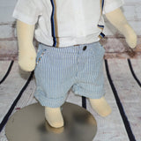 Suspender Shirt & Seersucker Short Baby - Clearance! Set