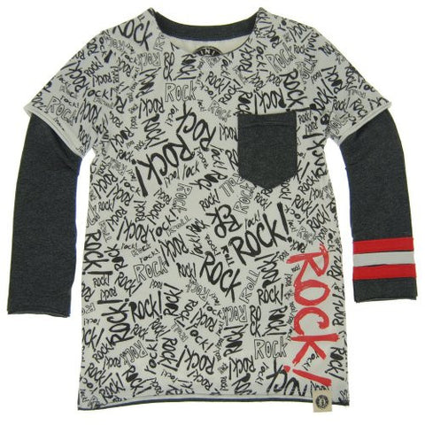 Graffiti Layered Tee - Clearance!