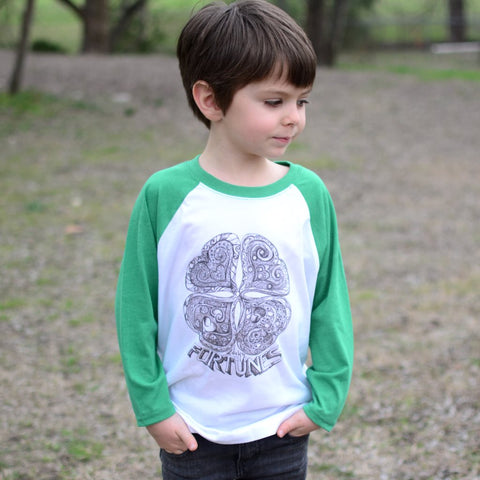 Lucky Fortunes Raglan T-shirt