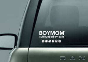 Boymom decal