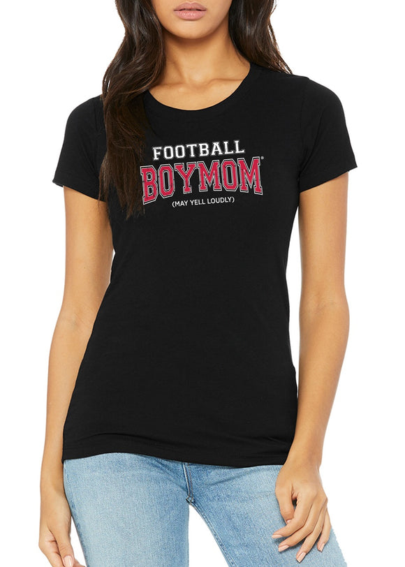 Football Boymom Crewneck T-shirt