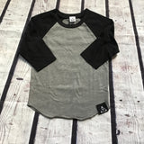 2 Legit Baseball Tee, Grey