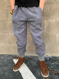 Herringbone Boys Jogger Pants