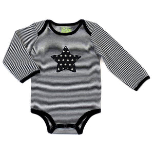 Baby Striped Bodysuit with Star