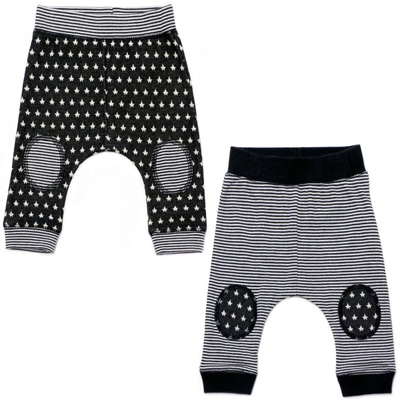 Baby Knit Joggers - Stripe or Stars