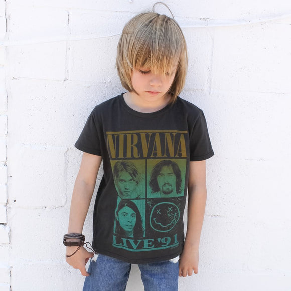 Nirvana Live '91 Rock Band T-Shirt
