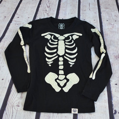 Halloween Skeleton LS T-shirt