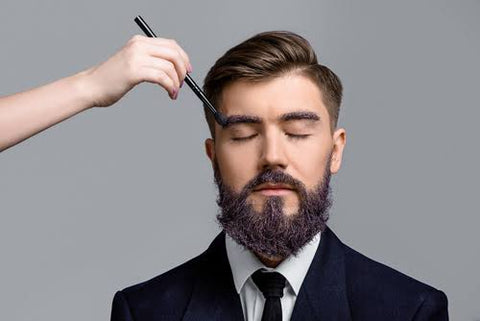 Men's Grooming hair style and beard treatment