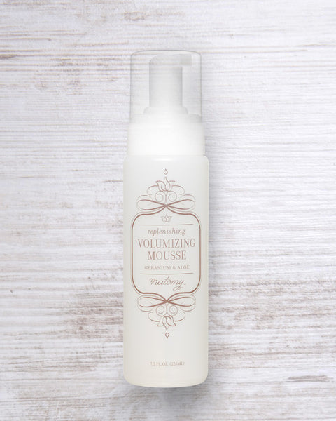Volumizing Mousse with Aloe Vera and Geranium - Natomy