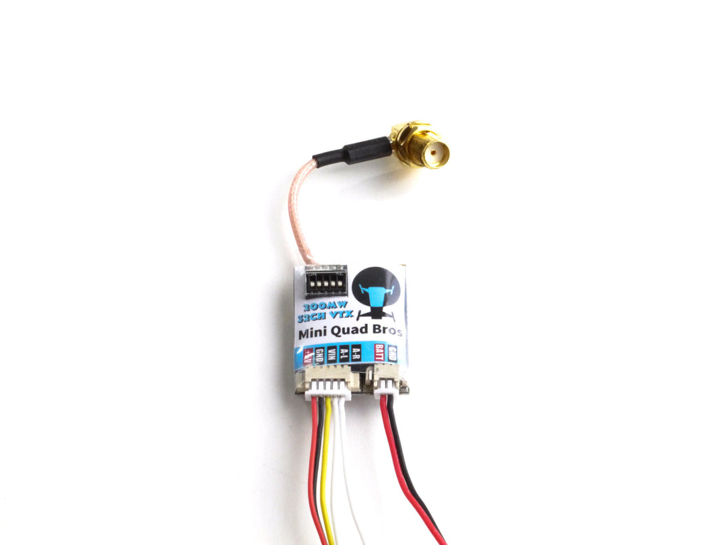 Naze32 Minimosd Wiring Diagram Micro Mini Quad Bros Specializes In Cheap Quadcopter Packages 200mw 32ch Raceband Vtx