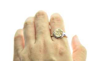 Design your own 10mm Minimal Signet Ring - Signet Ring - Backtozero