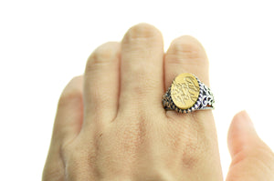 Design your own 11x15mm Fancy Signet Ring - Signet Ring - Backtozero