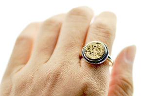 Design your own 12mm Classic Signet Ring - Signet Ring - Backtozero