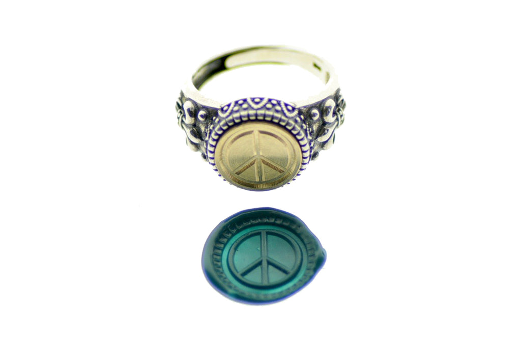 Peace Signet Ring