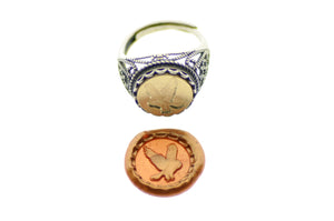 Owl Signet Ring