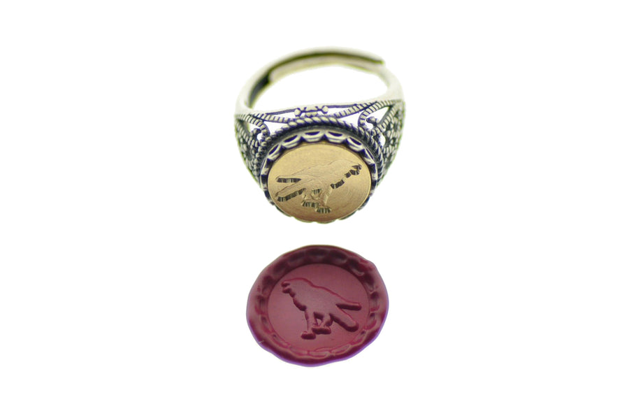 Raven Signet Ring - Backtozero