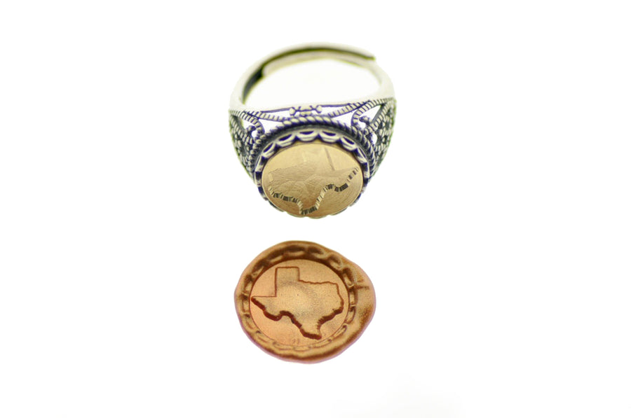 Home State Signet Ring - Signet Ring - Backtozero