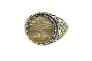 Tree of Life Signet Ring