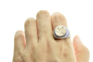 Moose Signet Ring