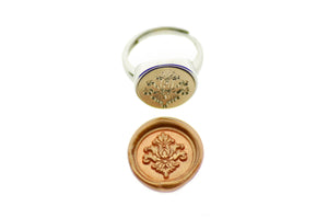 Victorian Filigree Deco Signet Ring