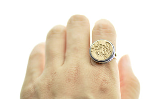 Design your own 15mm Classic Signet Ring - Signet Ring - Backtozero
