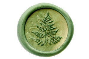 3D Fern Wax Seal Stamp