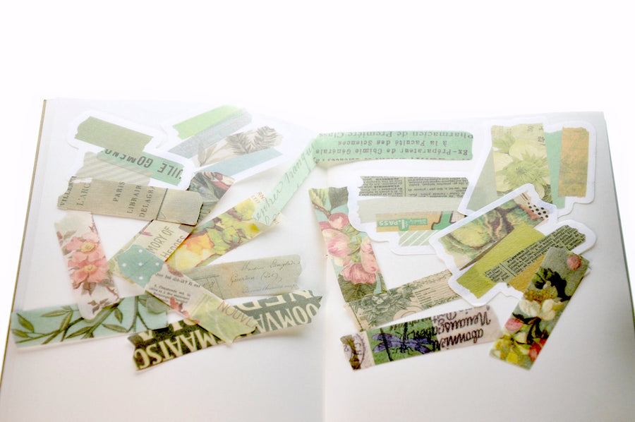 Translucent Stickers Set | Washi Tape B