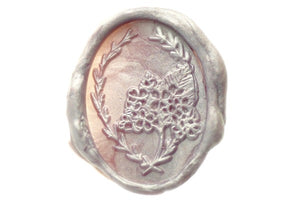 Hydrangea Bouquet Wax Seal Stamp Designed by Petra