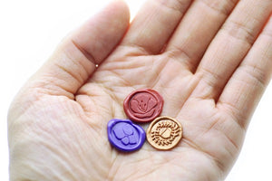 Hydrangea Wax Seal Stamp Designed by Petra - Wax Seal Stamp - Backtozero