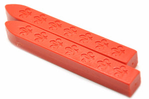 Orange Non-Wick Fleur Sealing Wax Stick - Sealing Wax - Backtozero