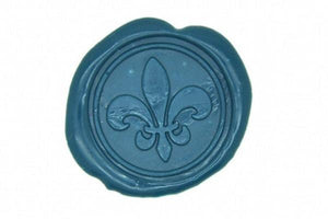 Fleur de Lis Wax Seal Stamp - Wax Seal Stamp - Backtozero