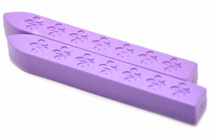 Pastel Purple Non-Wick Fleur Sealing Wax Stick - Sealing Wax - Backtozero